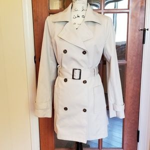 Style&Co Double Breasted Trench Coat